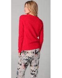 IRO - Red Sara Sweater - Lyst