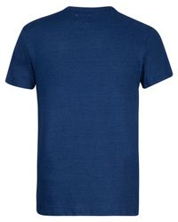 Edwin Blue Indigo Pocket T-shirt for men