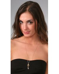 Gorjana - Metallic Large Key Necklace - Lyst