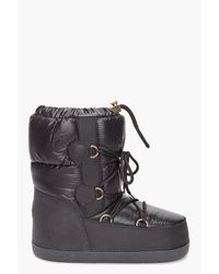 Moncler | Black Moon Boots for Men | Lyst