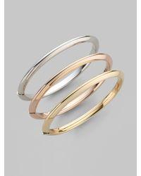 Roberto Coin | Pink 18k Rose Gold Bracelet | Lyst
