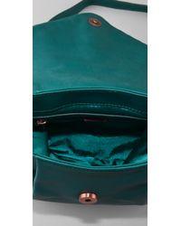 Tuleste   Green Javi Messenger Bag   Lyst