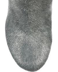 Camilla Skovgaard | Metallic Calf Hair Knee Boots | Lyst
