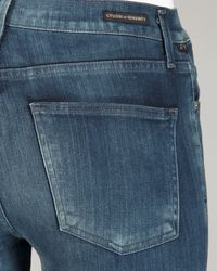 Citizens of Humanity Blue Rocket Halo High-rise Skinny Jeans