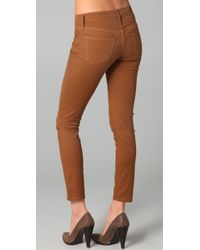 Citizens of Humanity   Brown Thompson Skinny Jeans   Lyst