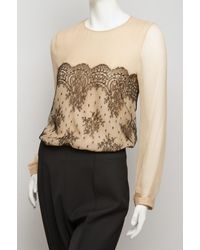 Jason Wu | Floral Lace Tee | Lyst