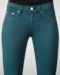 Rag & Bone - Blue The Skinny Jewel Jeans - Lyst
