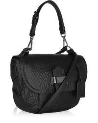 Reed Krakoff - Black Tumbled Leather Kit Bag - Lyst