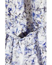 Theyskens' Theory - Blue Ital Dotta Floral Dress - Lyst