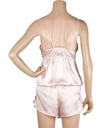 Vanessa Bruno | Pink Silk Camisole Top | Lyst