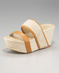 Elizabeth and James | Natural Double-strap Espadrille | Lyst