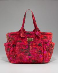 Marc By Marc Jacobs | Red Eliza Quilted Baby Bag | Lyst