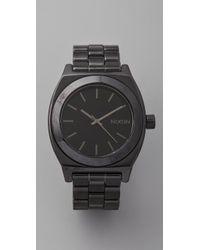 Nixon | Black The Ceramic Time Teller | Lyst