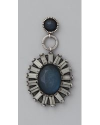Rachel Leigh - Blue Adorned Statement Earrings - Lyst