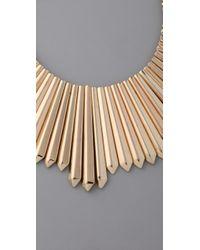 Belle Noel   Metallic Mini Dagger Collar Necklace   Lyst