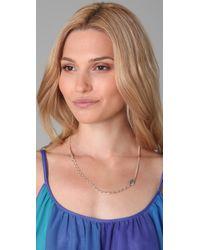 Bing Bang | Metallic Evil Eye Amulet Necklace | Lyst