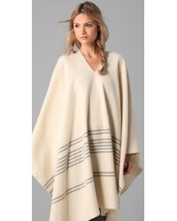 Boy by Band of Outsiders | Natural Woolrich Blanket Cape | Lyst