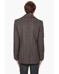 Givenchy | Green Pea Coat for Men | Lyst
