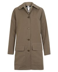 MHL by Margaret Howell | Natural Hooded Duster Coat | Lyst