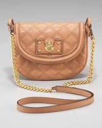 Marc Jacobs | Brown Quilted Noho Saddle Bag | Lyst