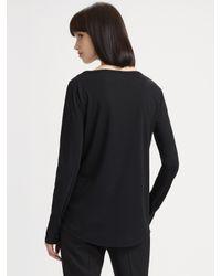 Akris Punto | Brown Cotton Coat | Lyst