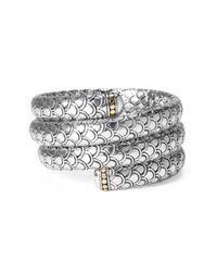 John Hardy | Metallic Naga Three Coil Bracelet | Lyst