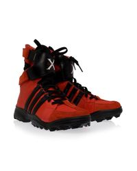 Y-3 | Red Gsgx Trekking Shoes for Men | Lyst