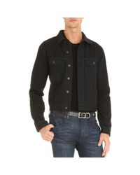 10221fc6cd Ralph Lauren Black Label Mason Trucker Jacket for Men - Lyst