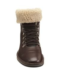 Sergio Rossi | Brown Mountain Boot for Men | Lyst