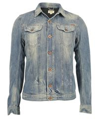 DIESEL | Blue Jhima Denim Jacket for Men | Lyst