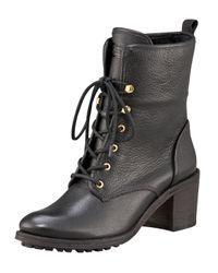 HUNTER | Brown Marisa Shearling Boot | Lyst