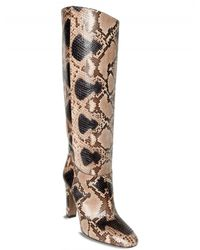 Valentino | Multicolor Hand Painted Python Boots | Lyst