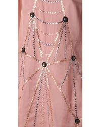 Alice By Temperley - Pink Ella Sequin Dress - Lyst