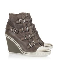 Ash Green Thelma Wedge Sneakers