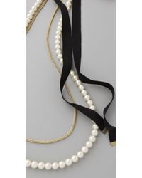 By Malene Birger Natural Tatian Necklace
