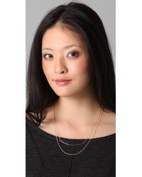Gorjana Pink Ava Layer Necklace