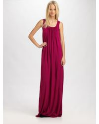 LNA | Red Nightingale Maxi Dress | Lyst