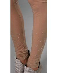 Pencey | Natural Crystal Tights | Lyst