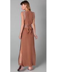 Sass & Bide - Brown State Of Mercey Belted Dress - Lyst