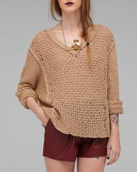 Free People | Natural Laguna Coast Pullover | Lyst