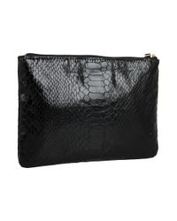 kate spade new york | Black Foiled Again Little Gia Cosmetics Case | Lyst