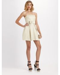 Rachel Zoe - White Nico Strapless Dress - Lyst