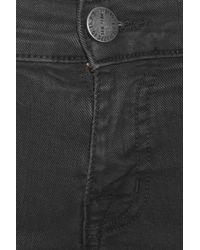 Current/Elliott - Black The Skinny Cargo Low-rise Jeans - Lyst