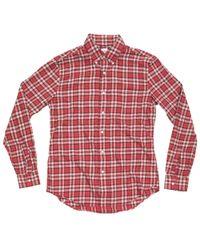 Aspesi | Red Shirt for Men | Lyst