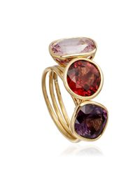 Astley Clarke - Metallic Spinel Stacking Rings - Lyst