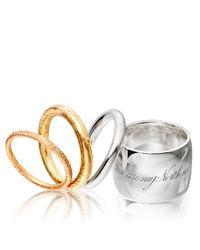 Astley Clarke Metallic Planis Ring