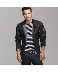 J.Crew | Black Belstaff® 50s Vintage Jacket for Men | Lyst