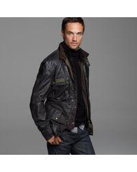 J.Crew - Black Belstaff® Sammy Miller Jacket for Men - Lyst