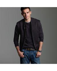J.Crew | Black Belstaff® Winter Liner Fleece Waistcoat for Men | Lyst