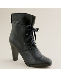 J.Crew | Black Owen High-heel Boots | Lyst